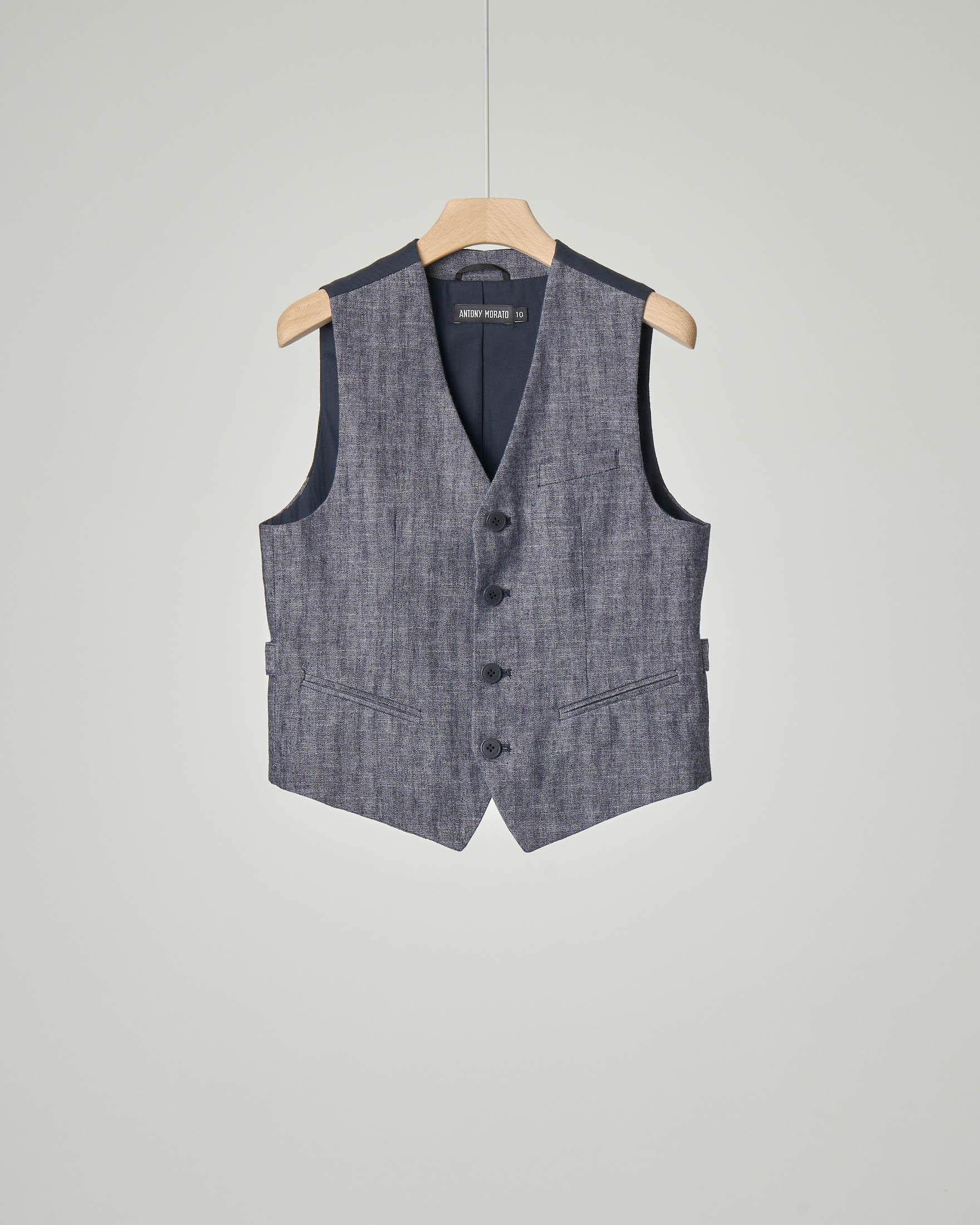 Gilet in denim
