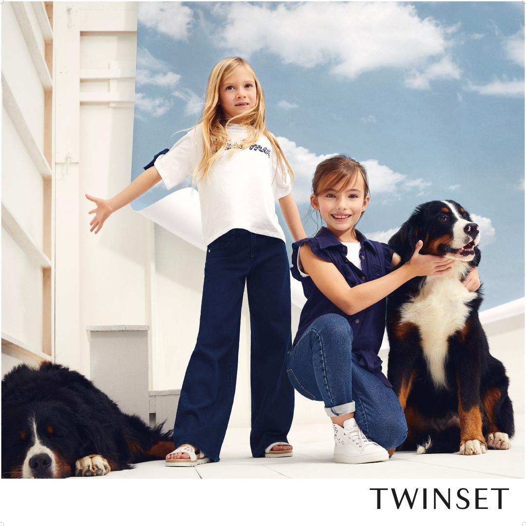 Outfit primavera bambine twin set