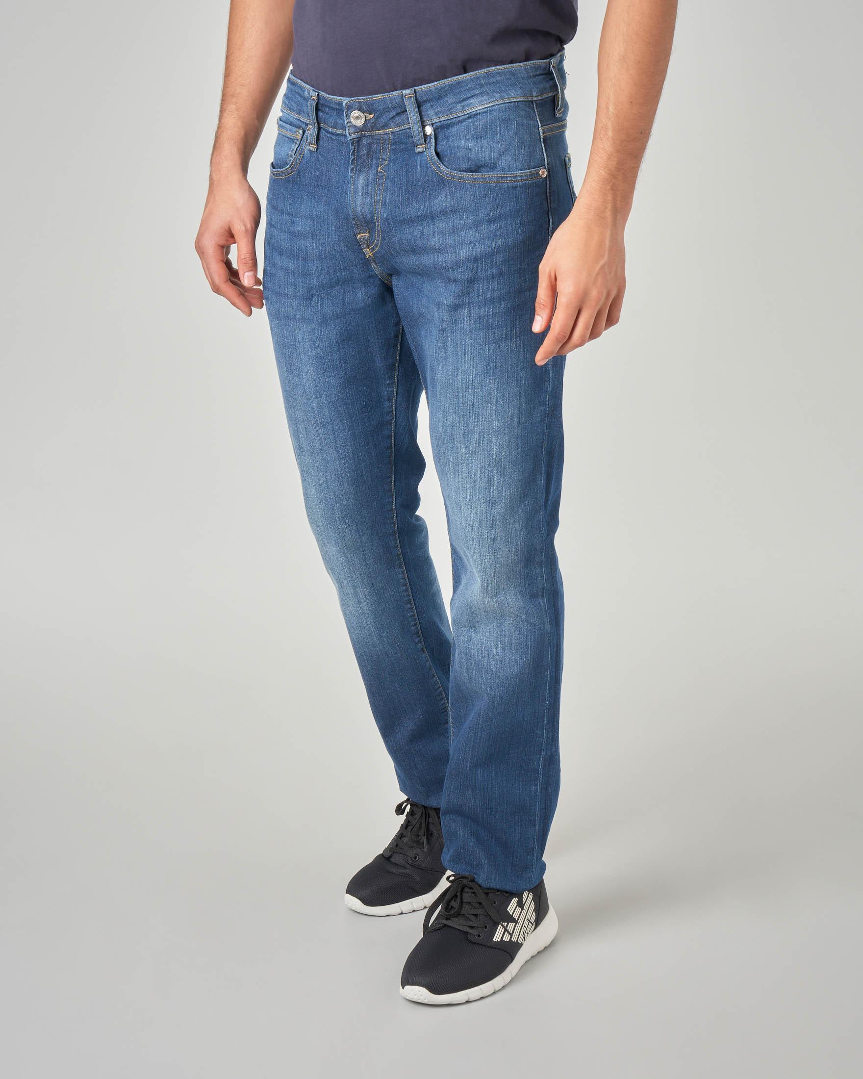 Jeans skinny lavaggio stone wash