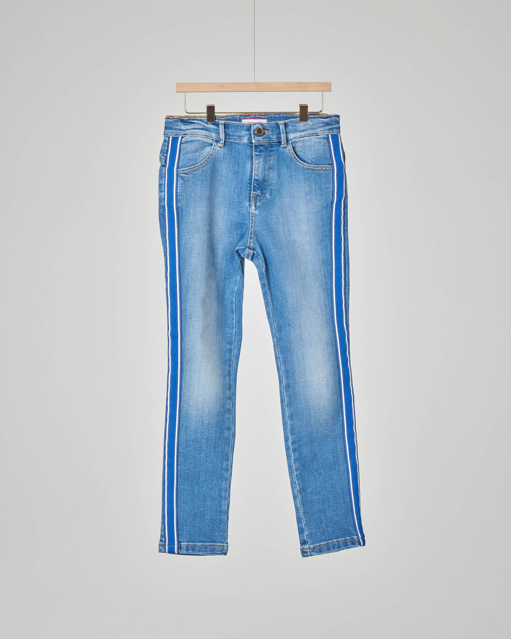 Jeans bande vita alta