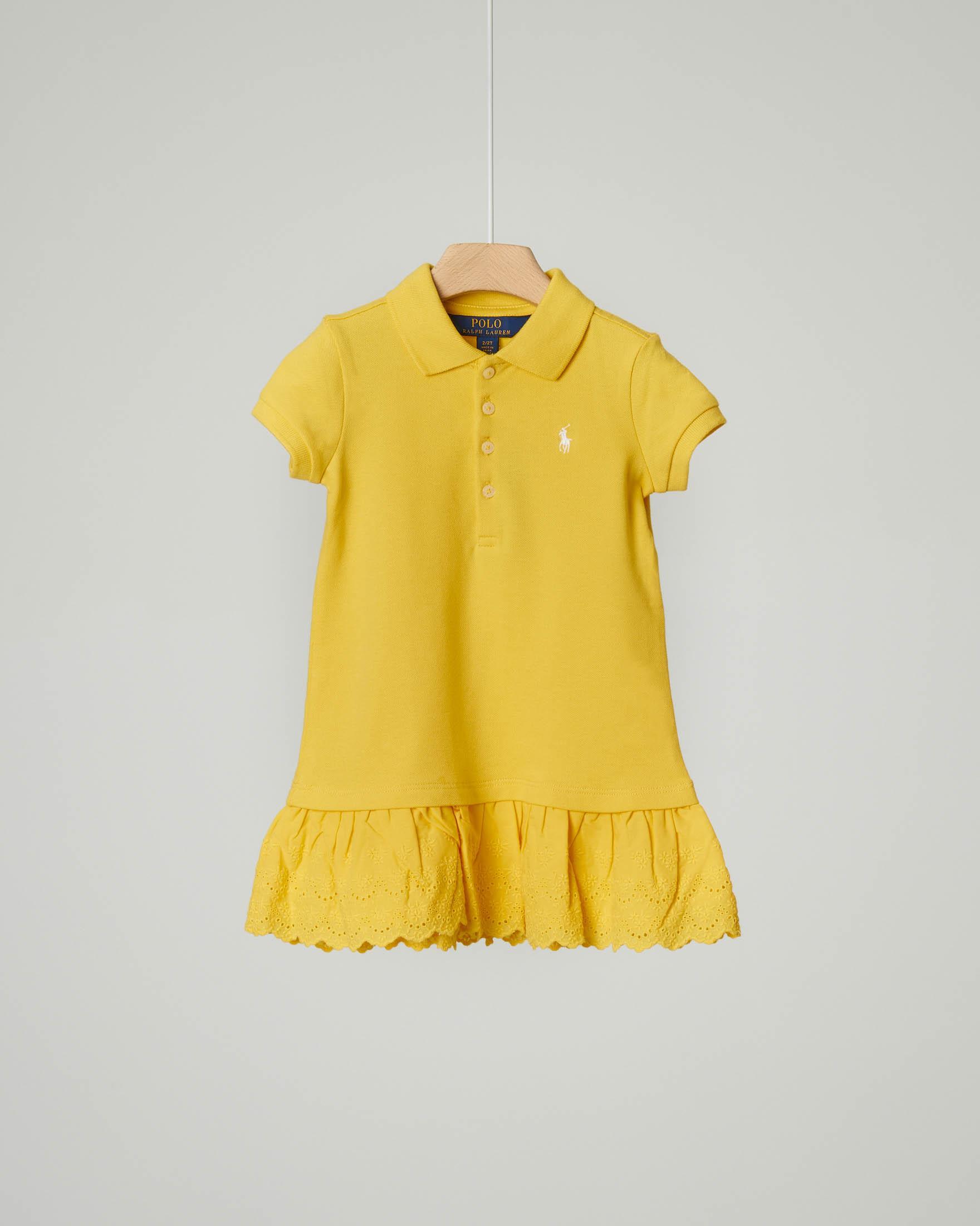 Abito giallo polo