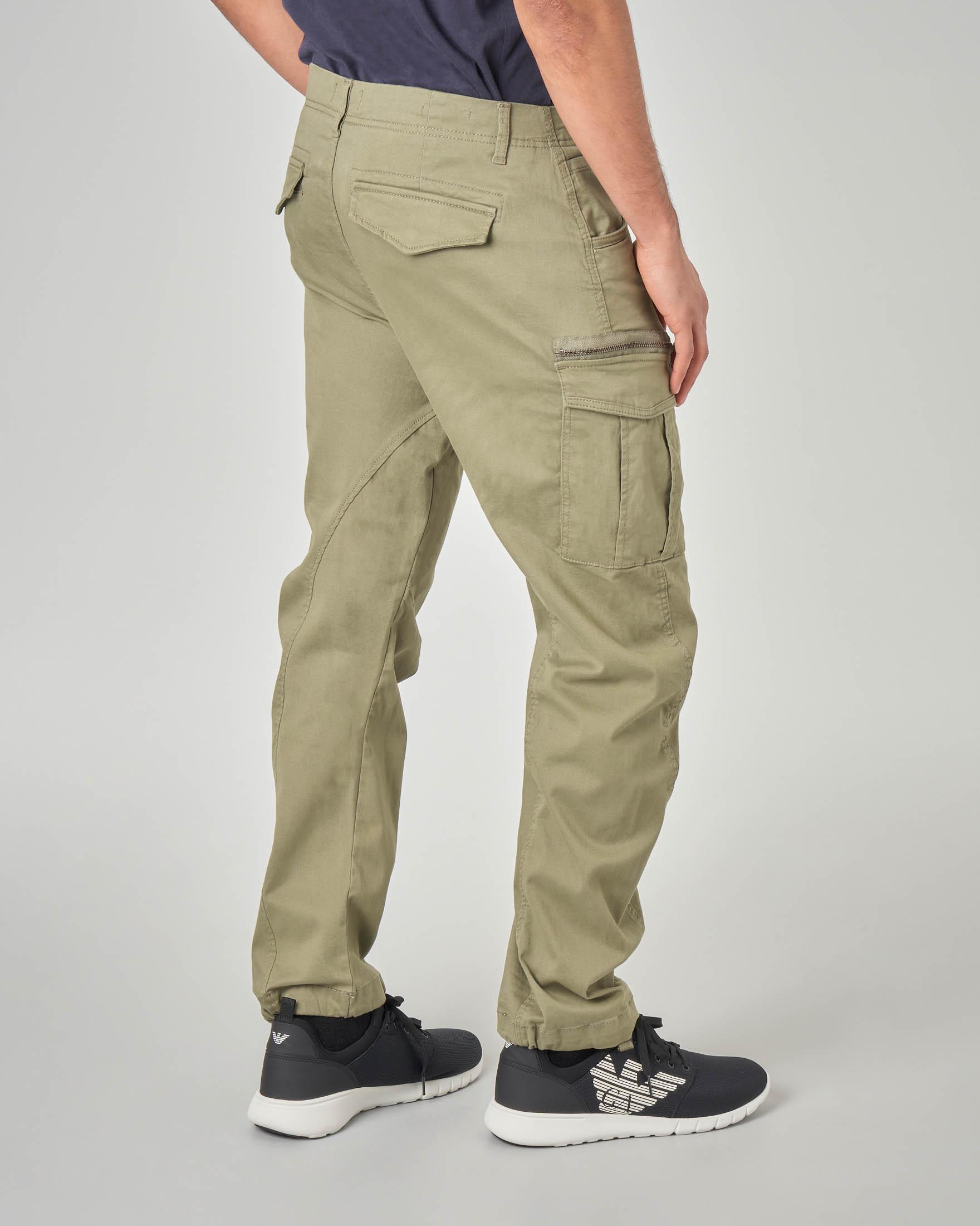 Pantaloni cargo verdi militare | Pellizzari E commerce