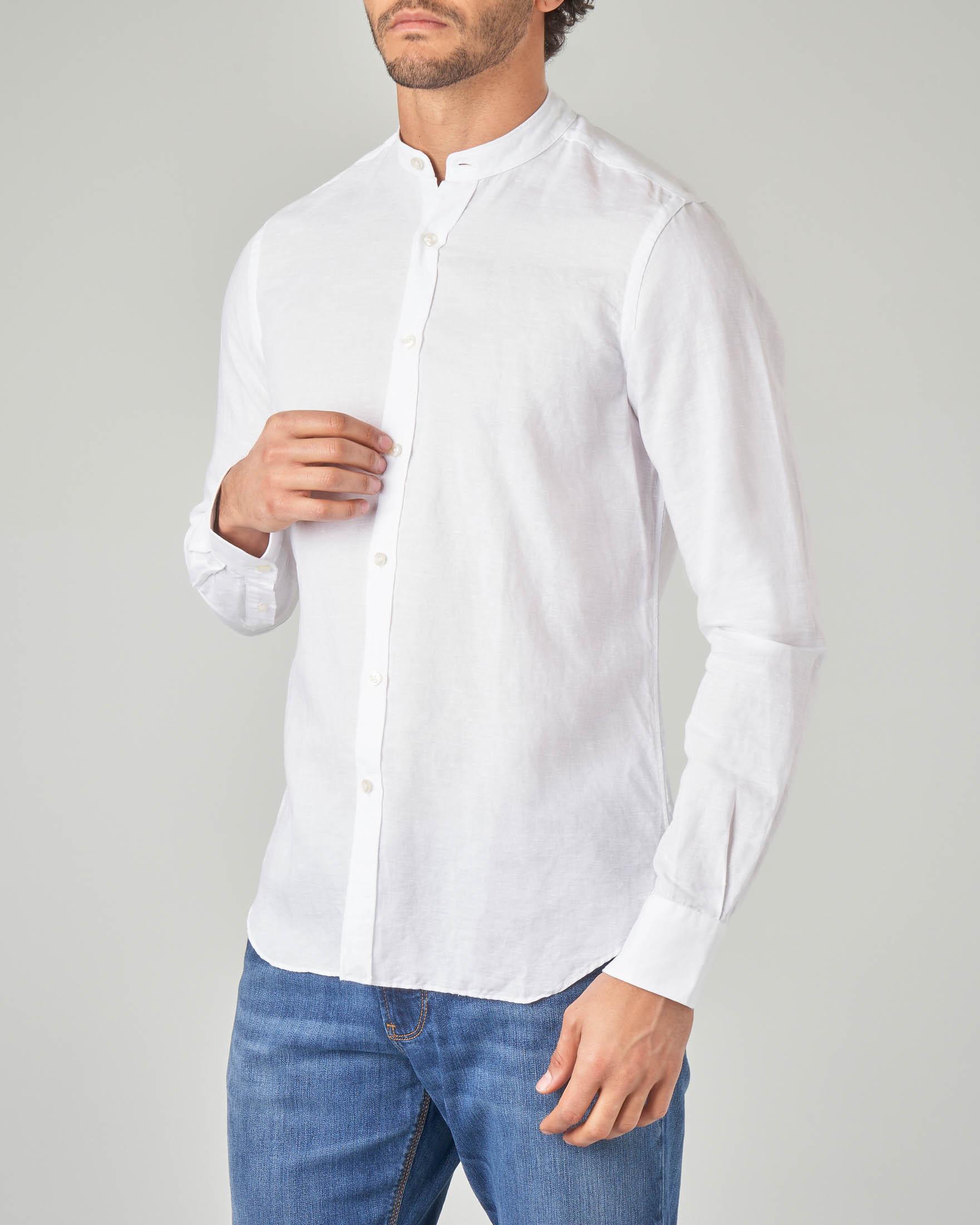Camicia bianca coreana