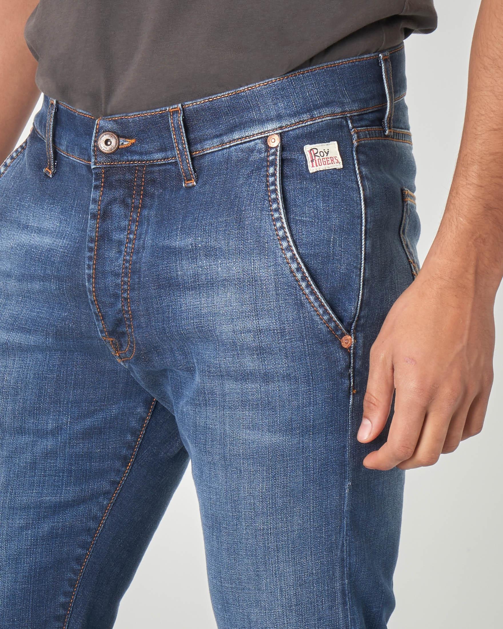 Jeans tasca america stone wash