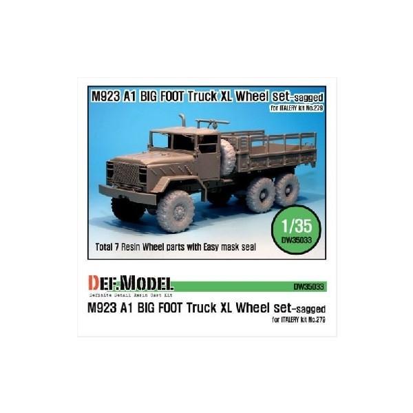 M923A1 BIG FOOT TRUCK MICH  XL