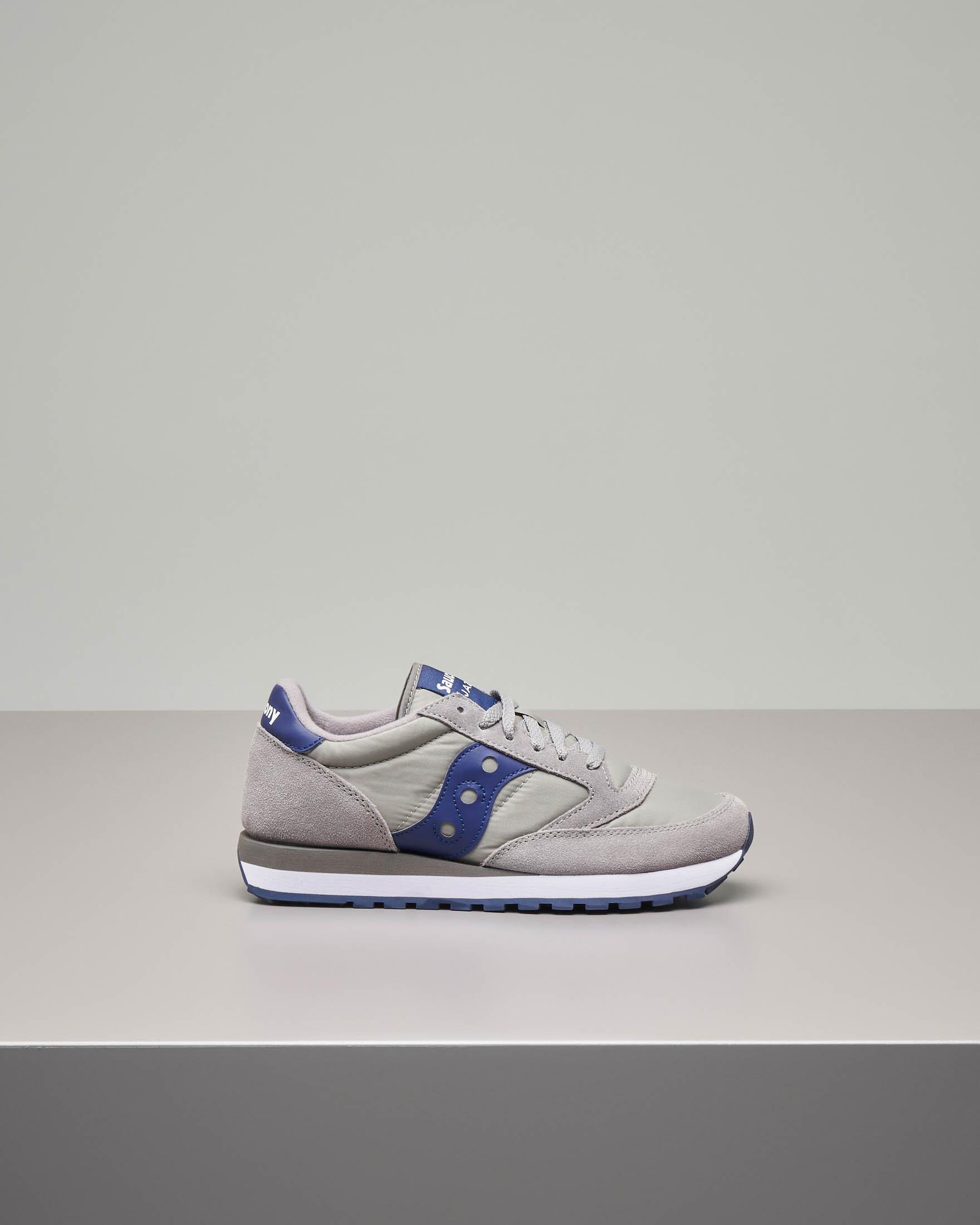 Sneakers Jazz O' grigie e blu