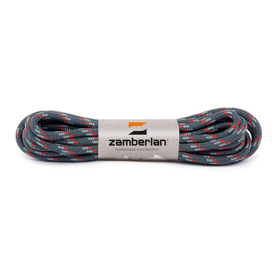 ZAMBERLAN® REPLACEMENT ROUND LACES    -   Anthracite/Grey/Red