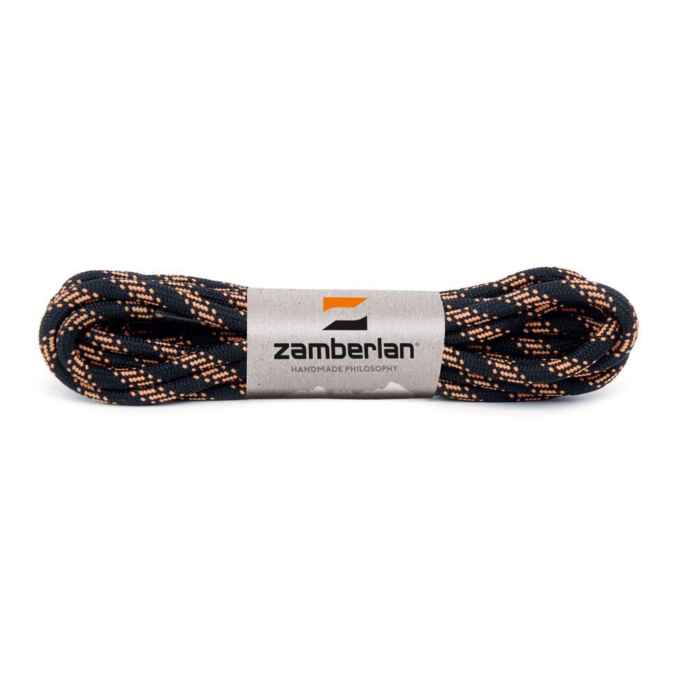 ZAMBERLAN® REPLACEMENT ROUND BOOT LACES    -   Black / Orange
