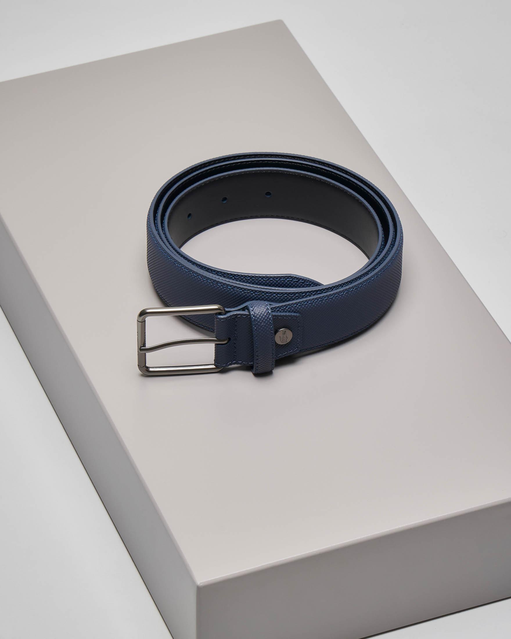 Cintura blu in micro piqué