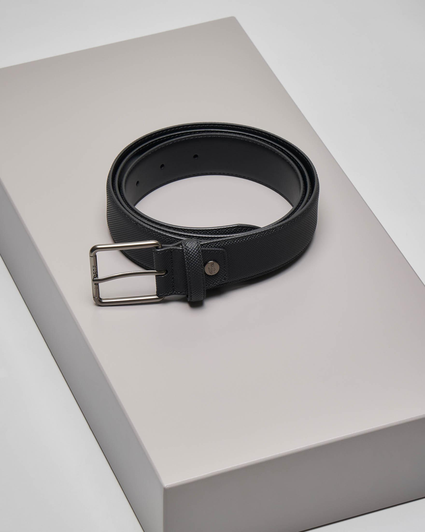 Cintura nera in micro piqué