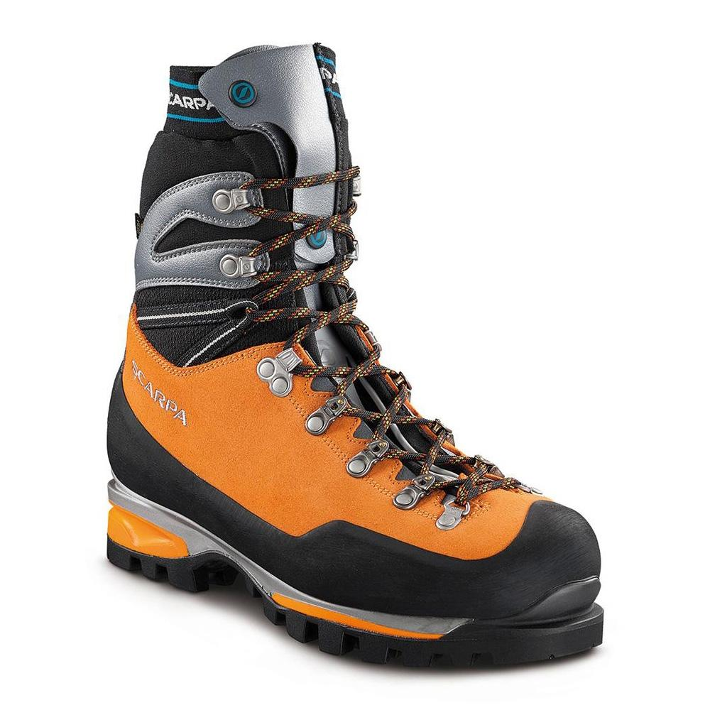 MONT BLANC PRO GTX   -   Higth altitude climbing with crampons   -   Orange