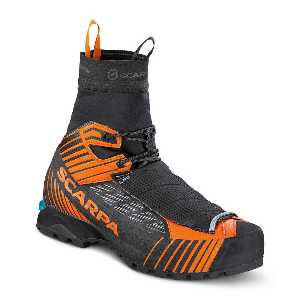 RIBELLE TECH OD   -   Ultra-lightwetght for fast tecnical alpinism   -   Black-Orange
