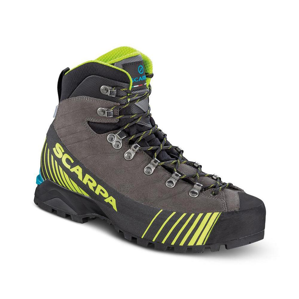 RIBELLE OD   -   Lightweight for fast and light mountaineering, via ferratas   -   Titanium-Lime