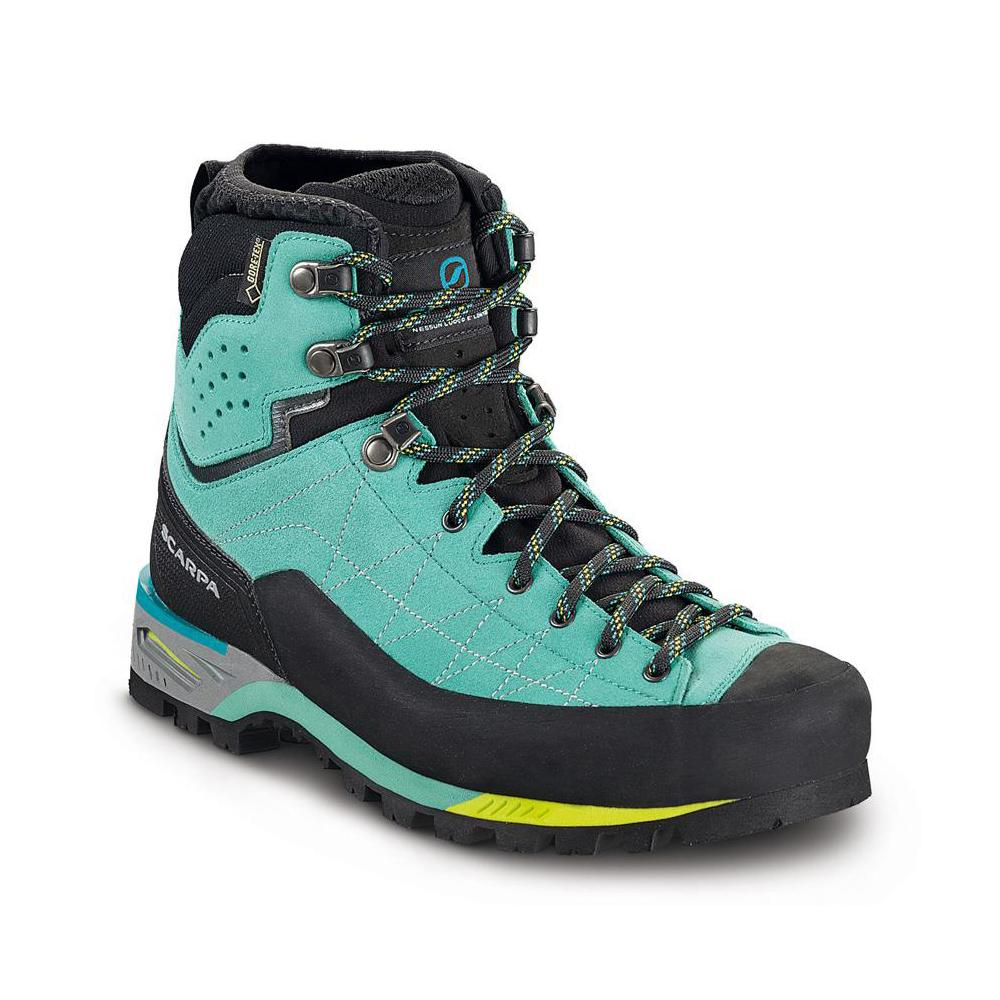 ZODIAC TECH GTX WMN   -   Technical mountaineering, via ferratas, challenging treks   -   Green blue