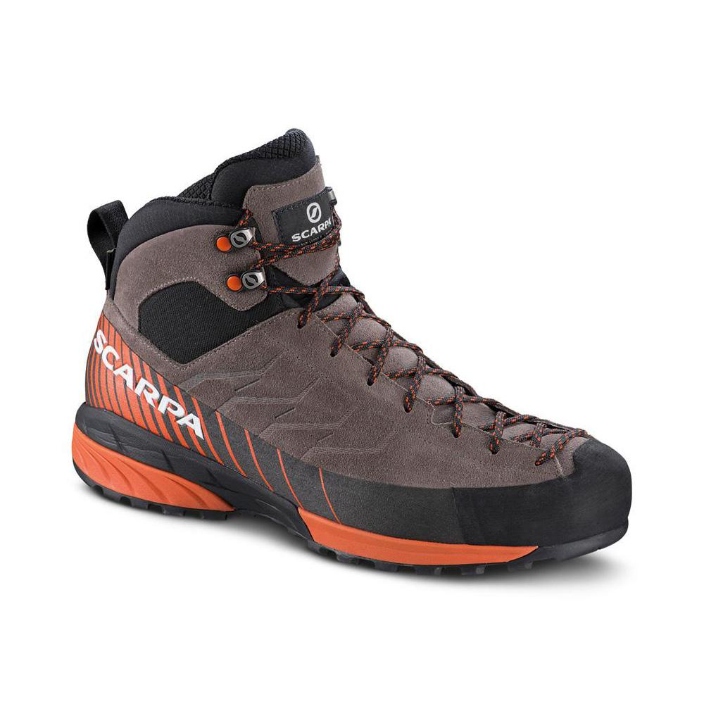 MESCALITO MID GTX   -   Technical approach also in wet trails   -   Charcoal-Dark Tonic