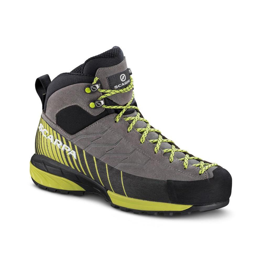 MESCALITO MID GTX WMN   -   Technical approach also in wet trails, wdesigned for woman's fit   -   Midgray-Light Green