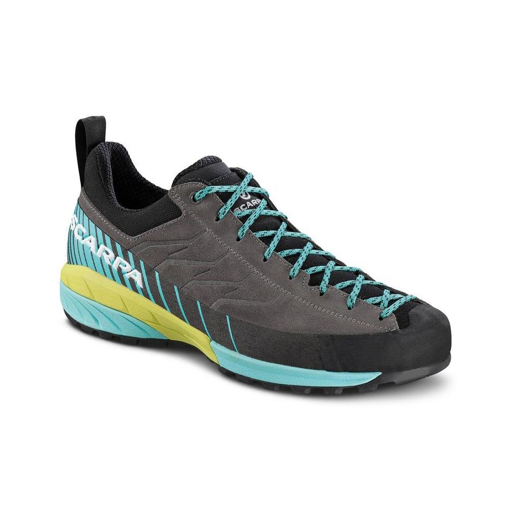 MESCALITO WMN   -   Technical approach, via ferratas,  mountain hikes   -   Titanium-Green Blue