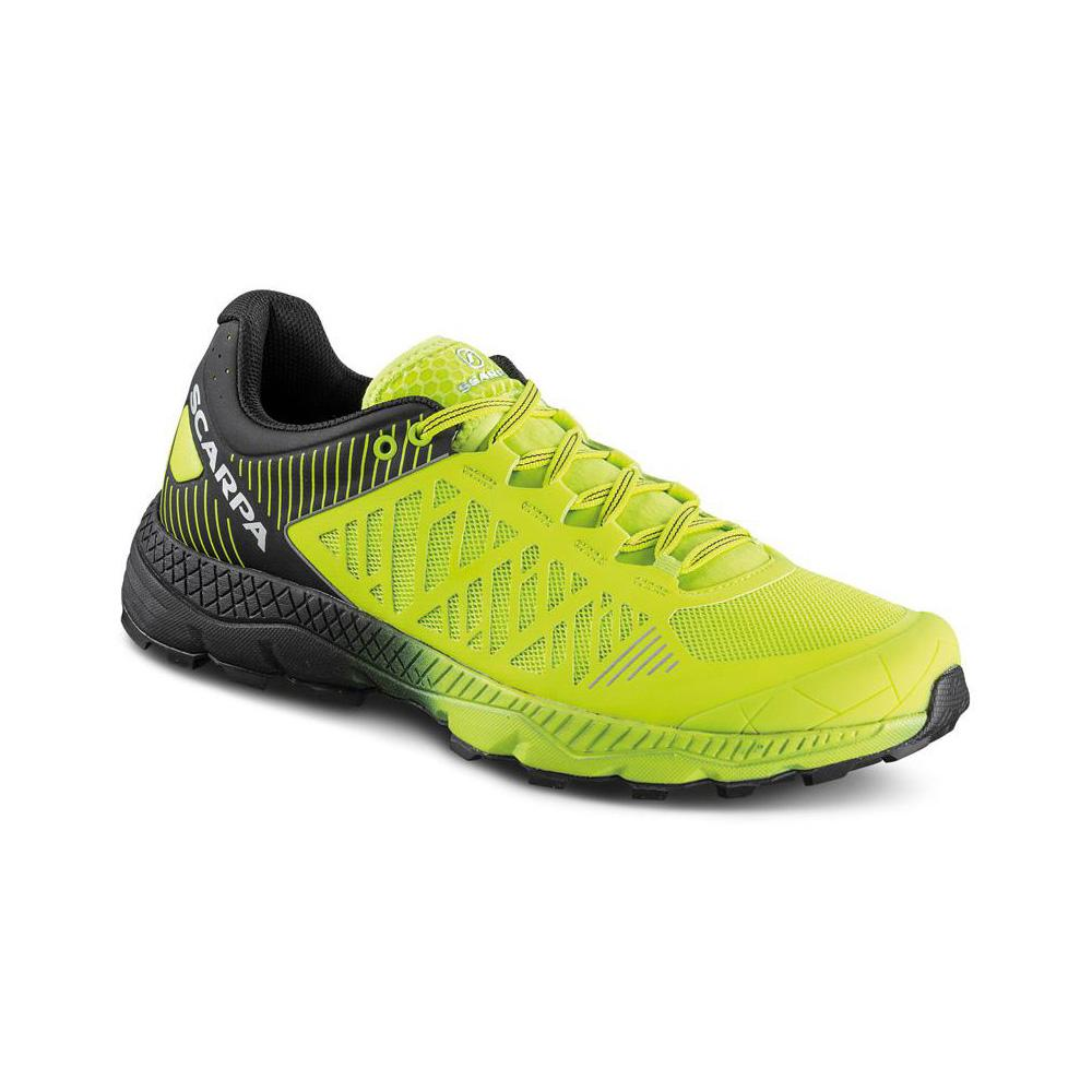 SPIN ULTRA     -   Trail running model for top runners   -   Acid Lime-Black