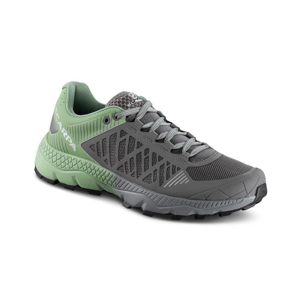SPIN ULTRA WMN    -   Trail Running per lunghe distanze   -   Shark-Mineral Green
