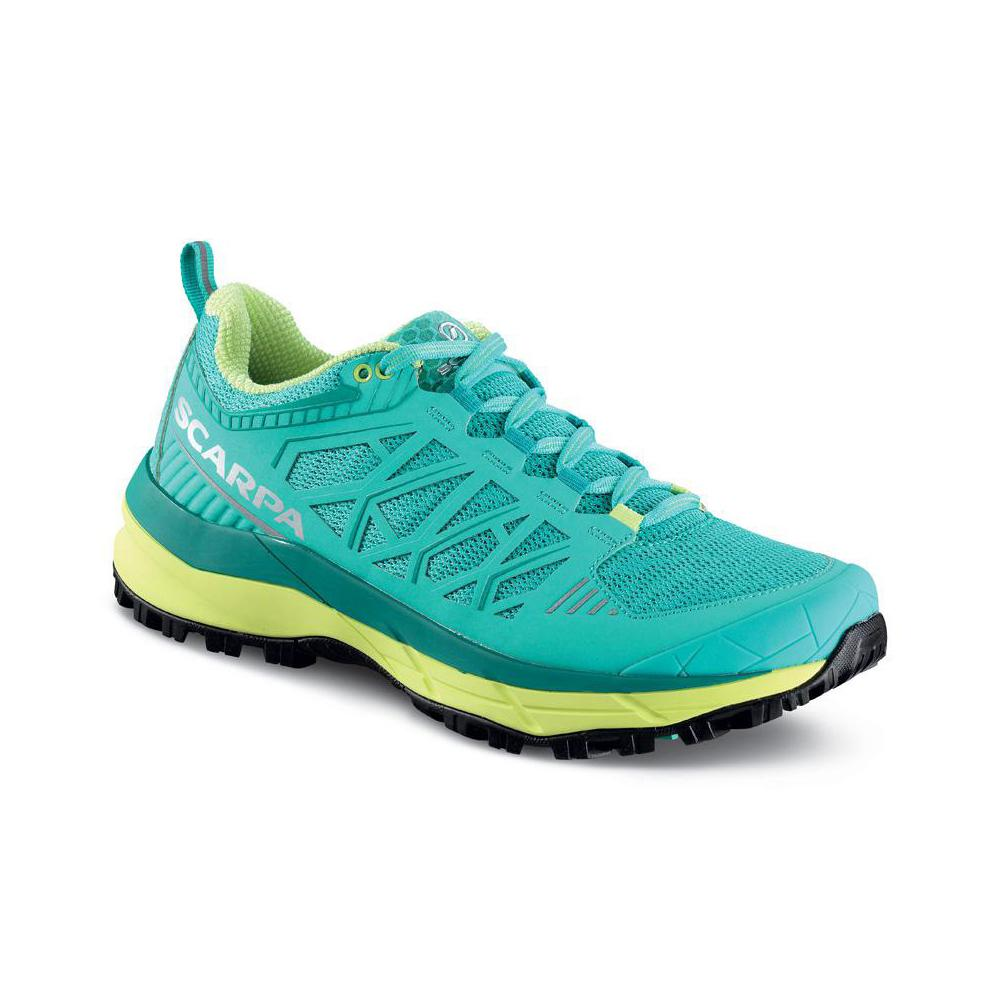 PROTON XT WOMAN   -   Trail running percorsi off-road lunghe distanze   -   Waterfall-Acid Lime