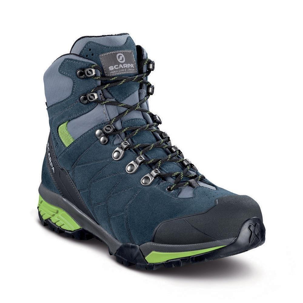 ZG TREK GTX   -   For moving fast on alpine hikes, waterproof   -   Ottanio-Gray-Spring