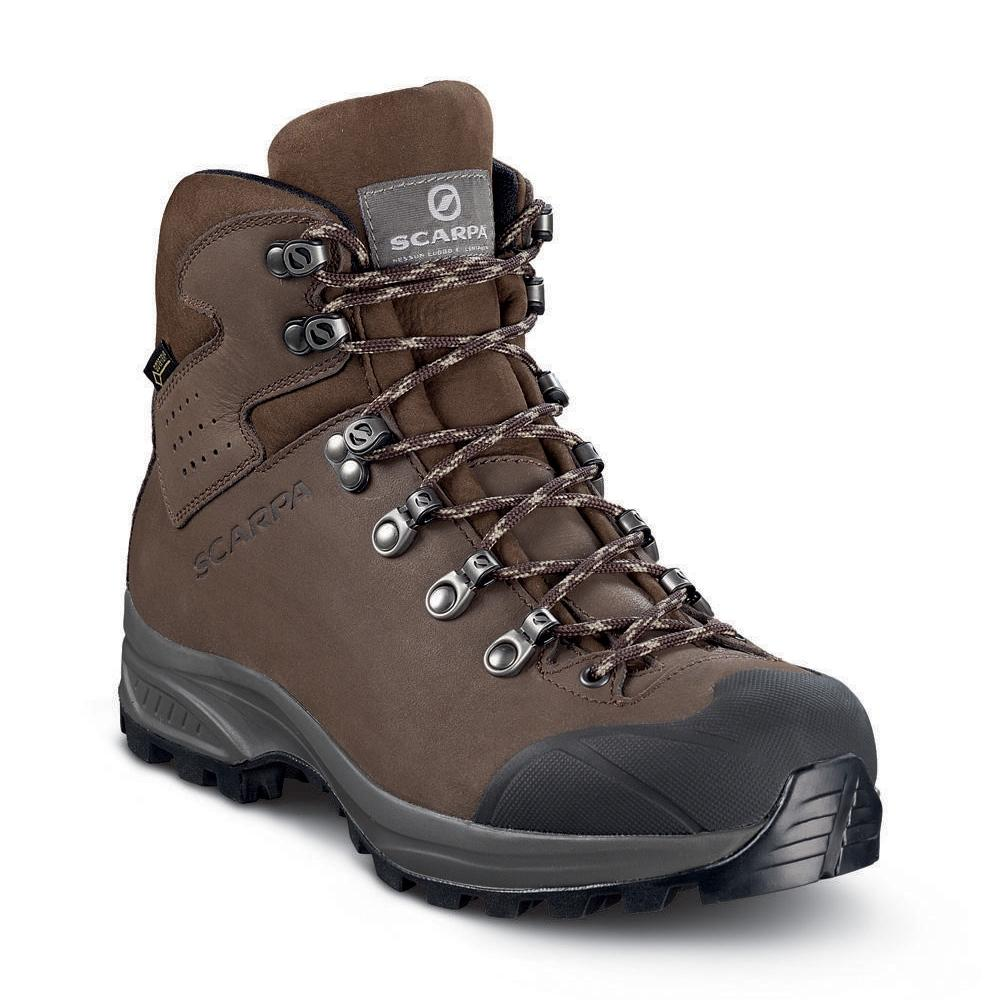 eaad4afb14737b KAILASH PLUS GTX WMN - On trails with full backpacks, waterproof - Dark  Brown (