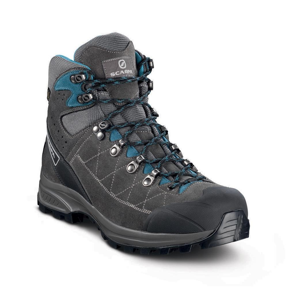 KAILASH TREK GTX    -   On trails with full backpacks, waterproof   -   Shark-Gray-Lake Blue