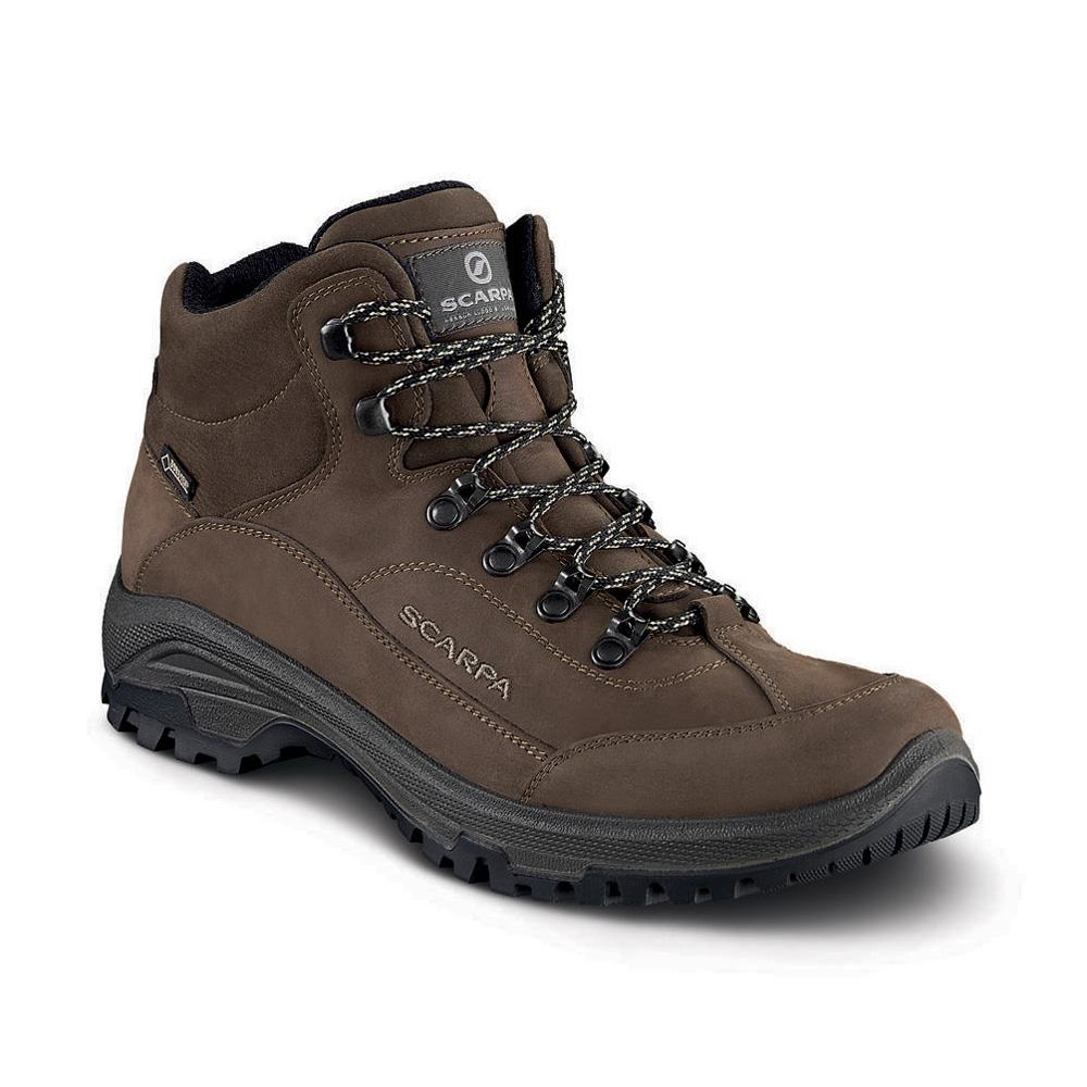 CYRUS MID GTX   -   Walks on trails and long easy walks, waterproof   -   Brown