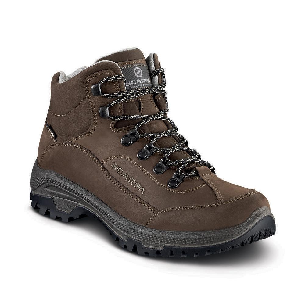 CYRUS MID GTX WMN   -   Walks on trails and long easy walks, waterproof   -   Brown