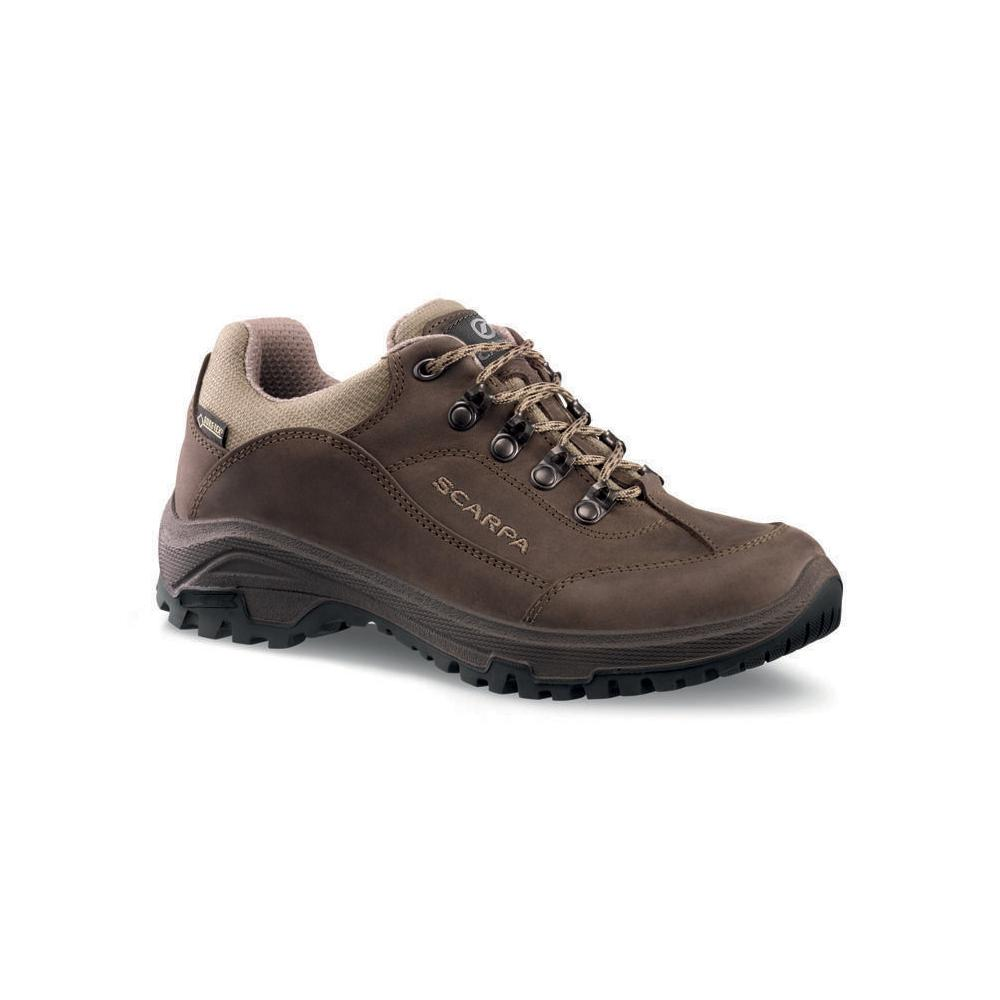 CYRUS GTX WMN   -   Walks on trails and long easy walks, waterproof   -   Brown