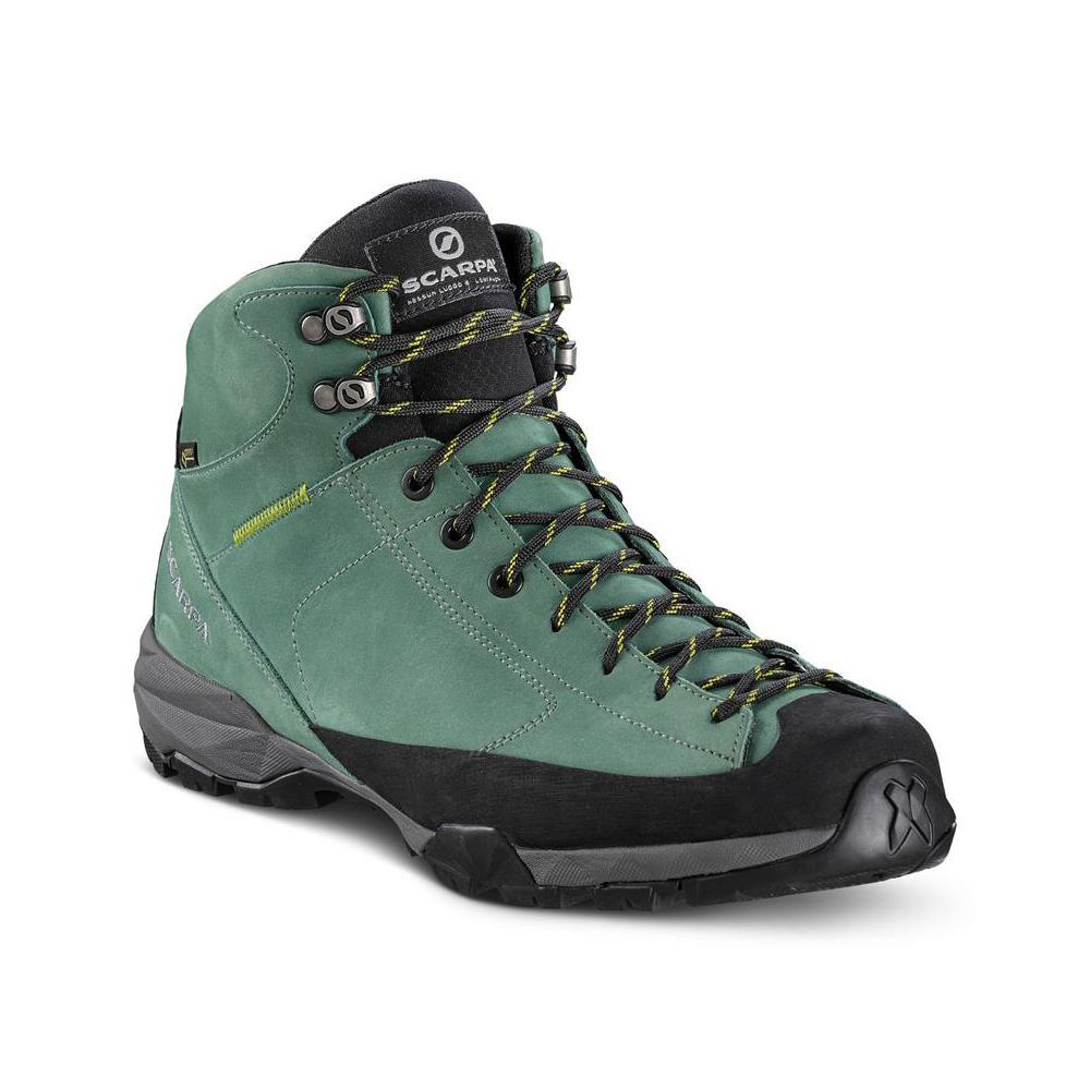 MOJITO HIKE PLUS GTX   -   For trails and walks in forests   -   Lichen Green (Nubuck)