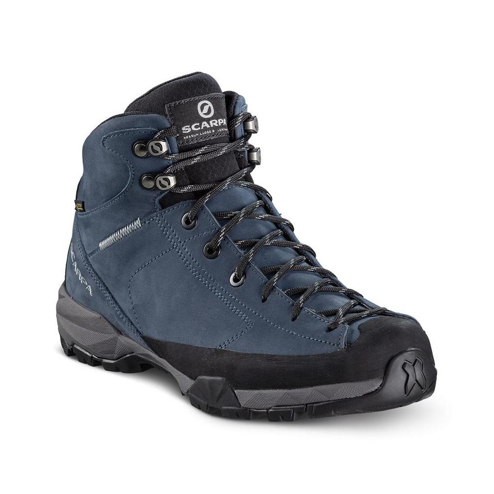 MOJITO HIKE PLUS GTX   -   For trails and walks in forests   -   Blue Cosmo (Nubuck)