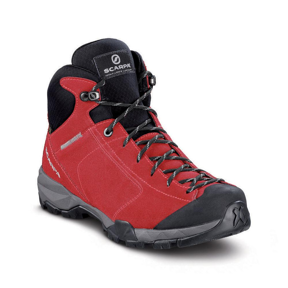 MOJITO HIKE GTX WMN   -   For fast hikes on mixed terrains, waterproof   -   Bright Red