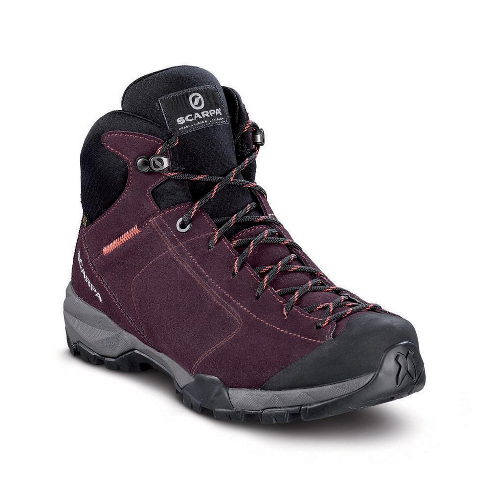 MOJITO HIKE GTX WMN   -   For fast hikes on mixed terrains, waterproof   -   Temeraire