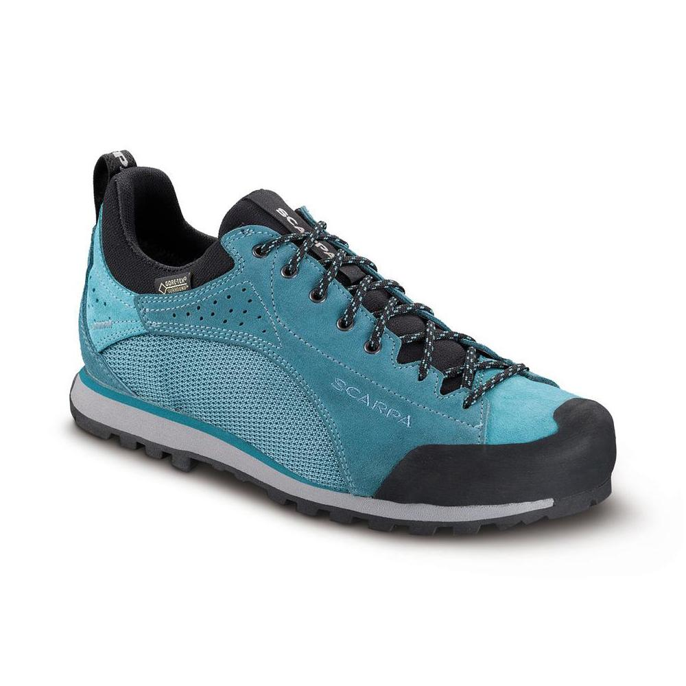 OXYGEN  GTX  WMN   -   For fast for walks on mountain paths   -   Polar Blue-Icefall
