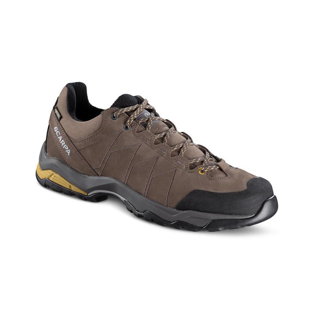 MORAINE PLUS GTX   -   Protective for hiking on mixed terrains, waterproof   -   Charcoal-Sulphur Green