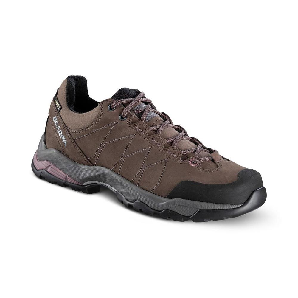 MORAINE PLUS GTX WMN   -   Hikinh su terreni misti, lunghe camminate, Impermeabile   -   Charcoal-Dark Plum