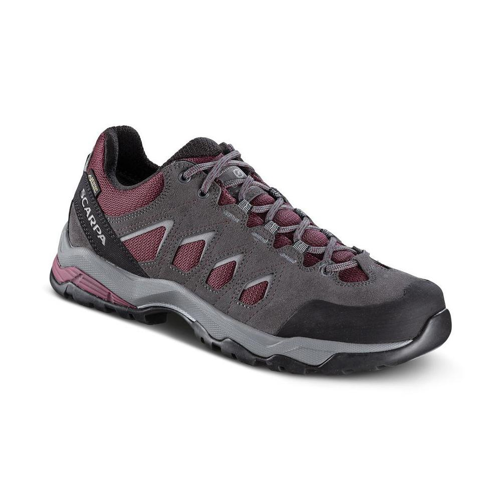MORAINE GTX WMN   -   Hiking lunghe camminate, uso cittadino, Impermeabile   -   Eggplant-Storm Gray-Light Gray