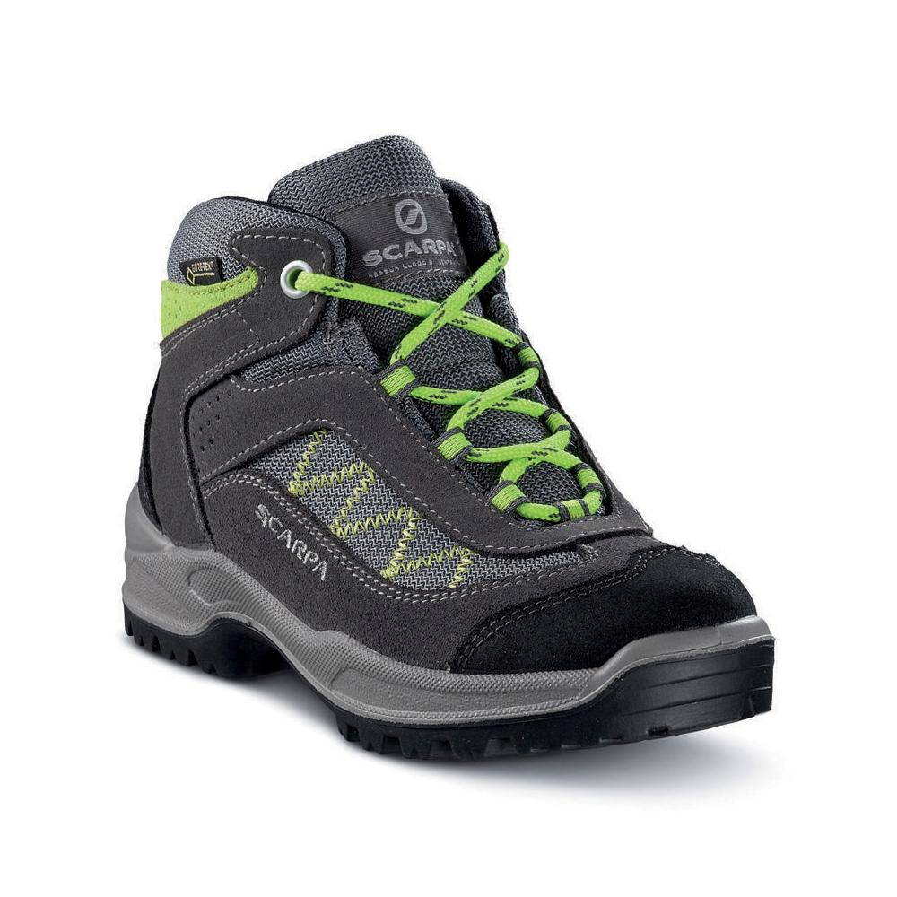MISTRAL KID GTX   -   Camminate sentieri sterrati e nei boschi, Impermeabile   -   Smoke-Mantis Green