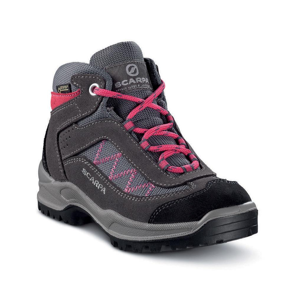 MISTRAL KID GTX   -   For hiking on dirt paths, waterproof   -   Smoke-Fuxia