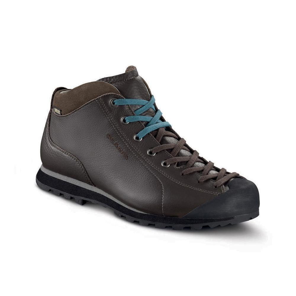 MOJITO BASIC MID GTX   -   Maximum comfort, a sombre but concrete style, waterproof   -   Dark Brown