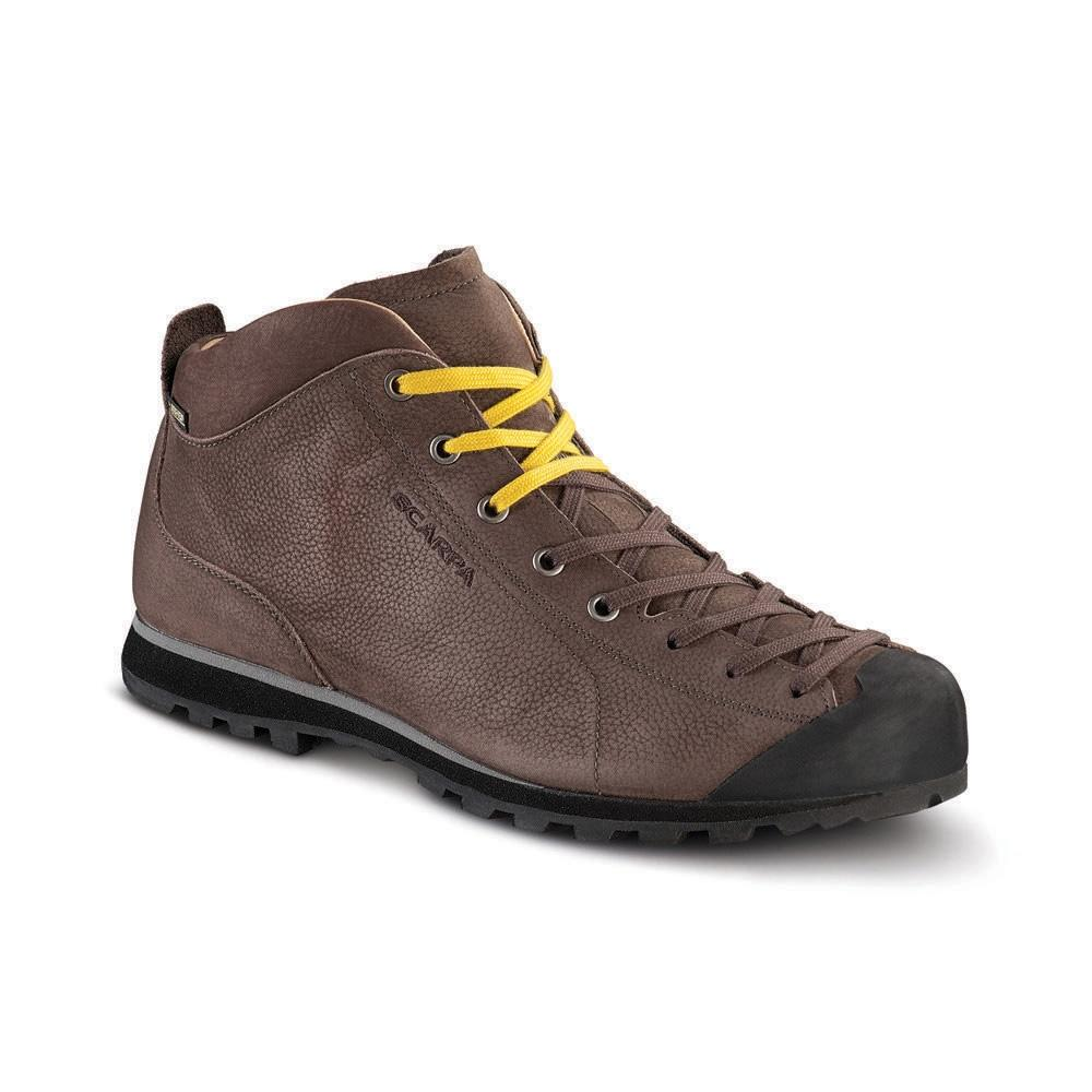 MOJITO BASIC MID GTX   -   Maximum comfort, a sombre but concrete style, waterproof   -   Brown