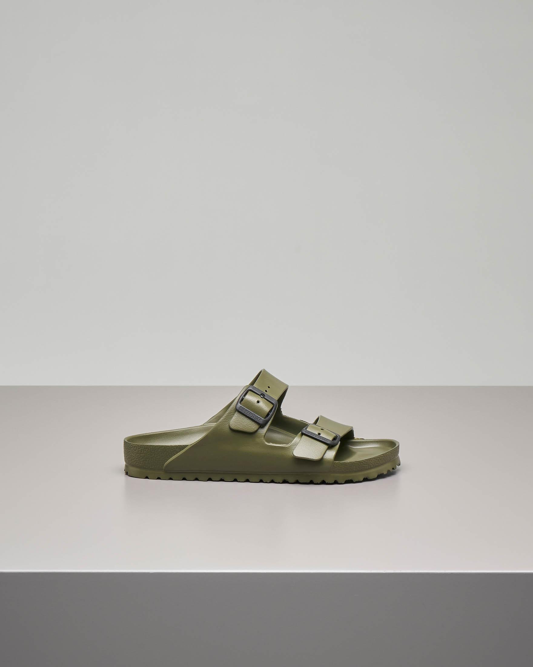 Sandalo Arizona verde militare in EVA