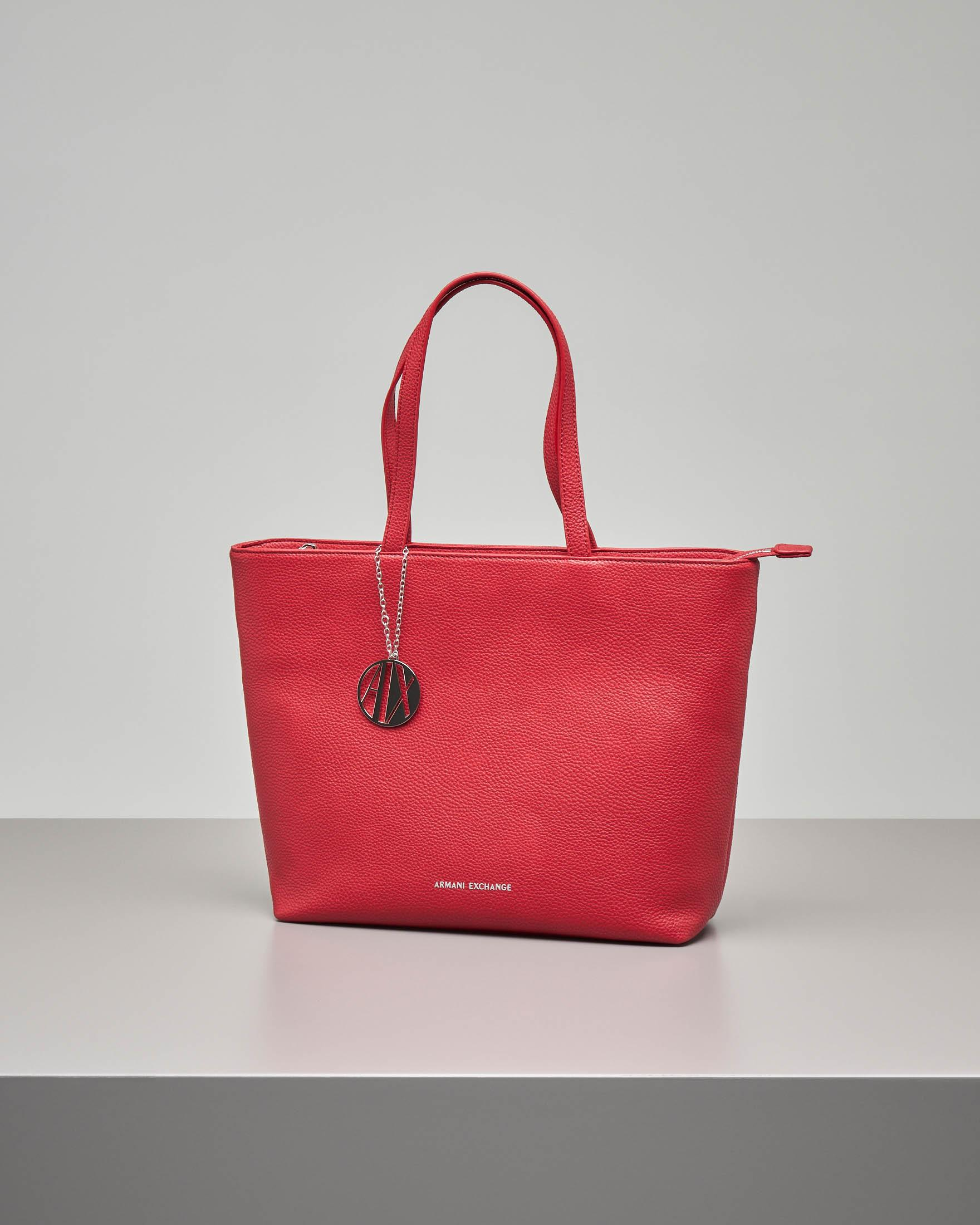 Shopping bag rossa misura media