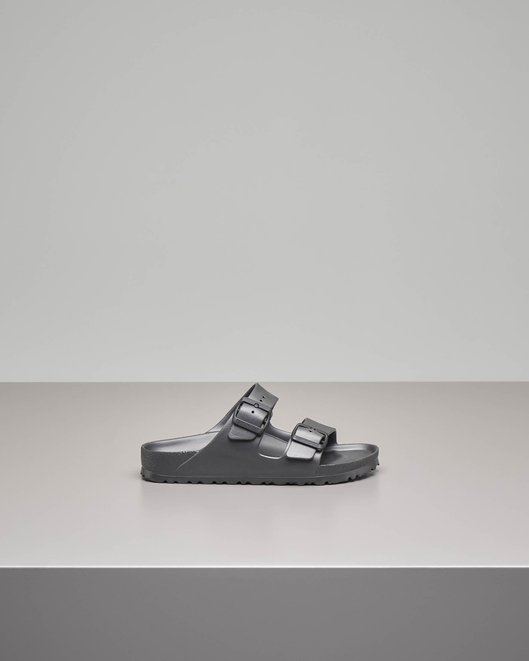 Sandalo Arizonain EVA color grigio scuro con doppia fascetta