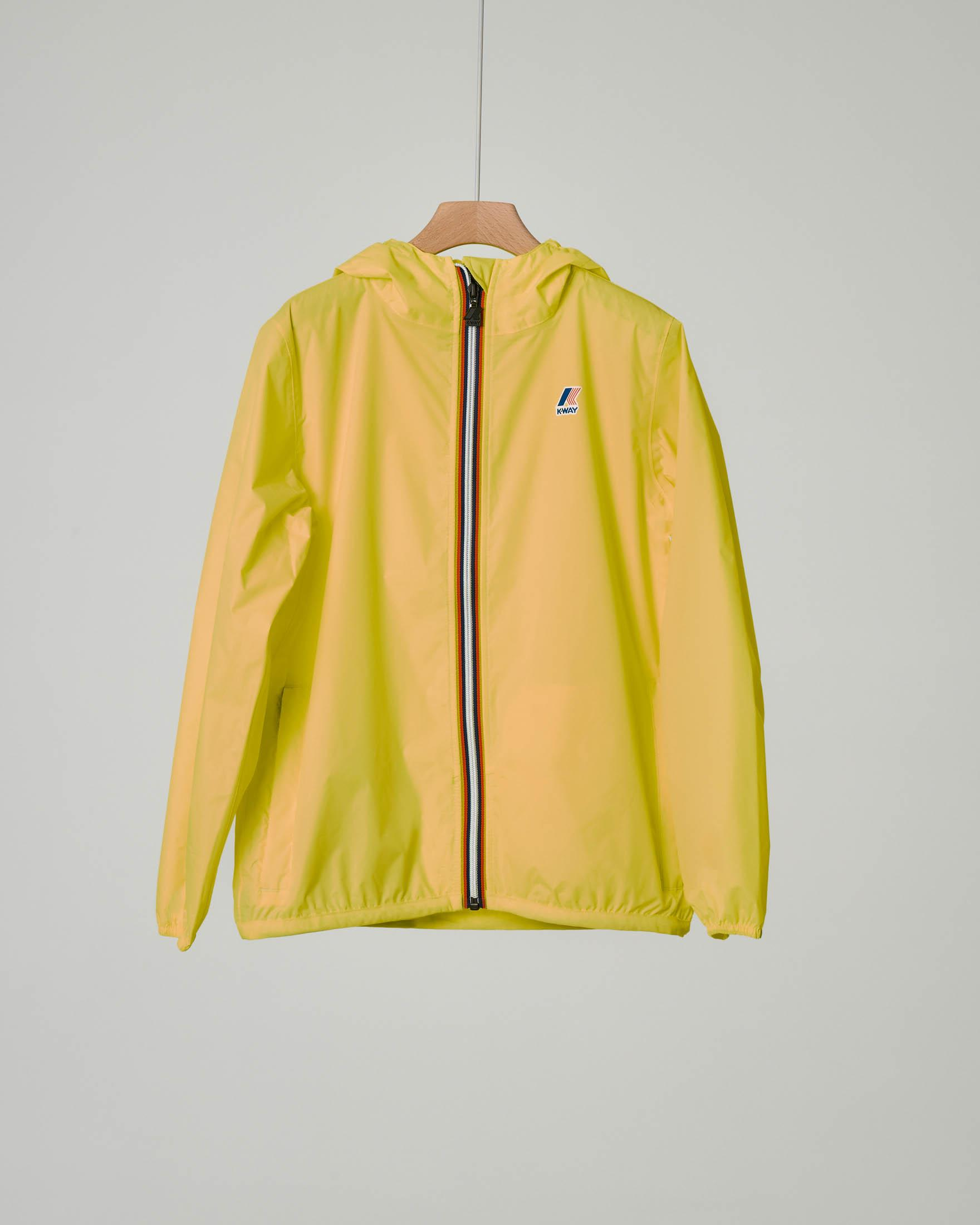 K-way giallo impacchettabile
