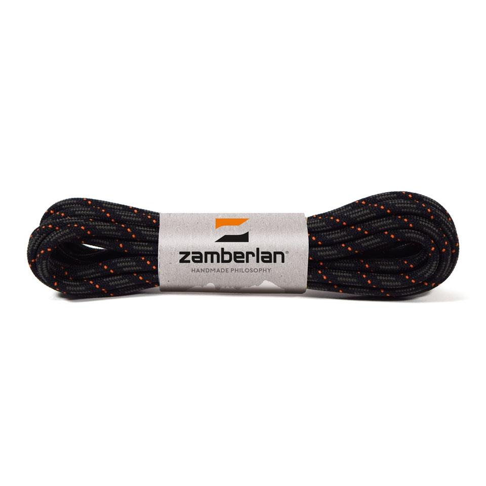 ZAMBERLAN® REPLACEMENT ROUND LACES    -   Graphite / Orange