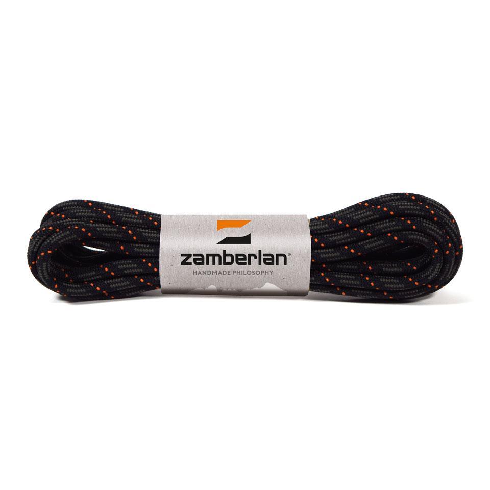 ZAMBERLAN® REPLACEMENT ROUND BOOT LACES    -   Graphite / Orange