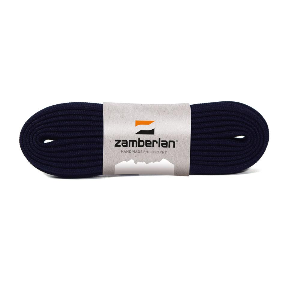 ZAMBERLAN® REPLACEMENT FLAT BOOT LACES   -   Dark Blue