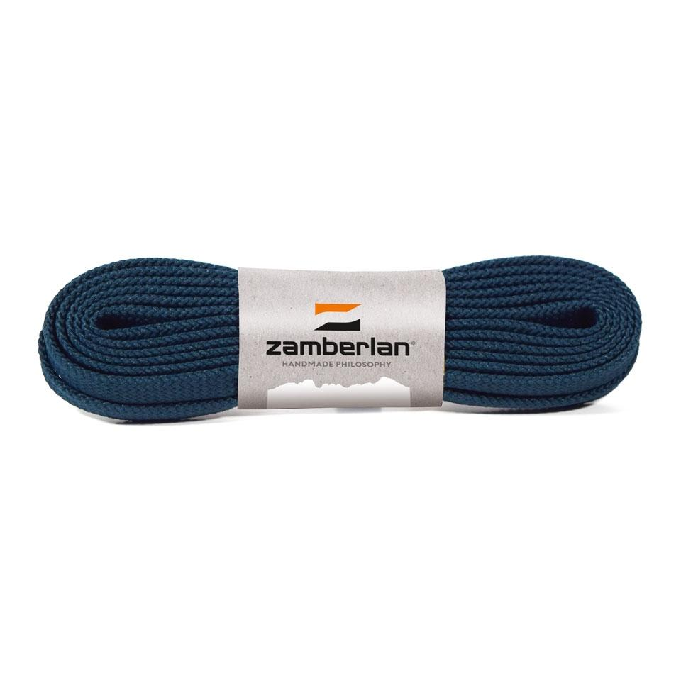 ZAMBERLAN® REPLACEMENT FLAT BOOT LACES      -      Octane Blue